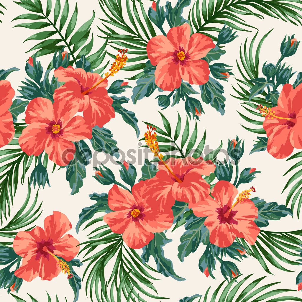Tropical Floral Pattern Tumblr - Google Search
