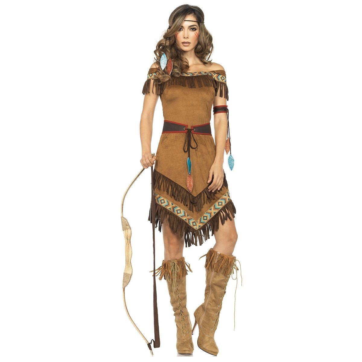 Unisex Ladies Adults Native Indian American Headdress Multi Color Fancy Dress