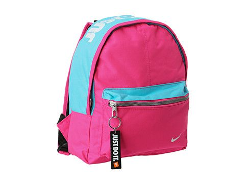 d22baf3369 Nike Kids Young Athletes Classic Base Backpack Pink Foil Gamma Blue White
