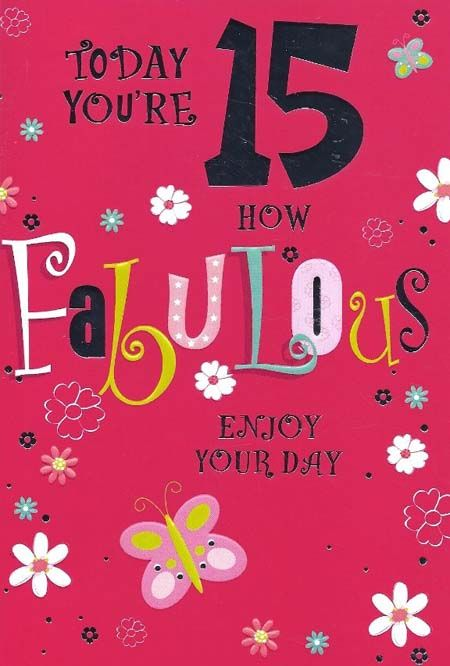 happy 15th birthday quotes funny