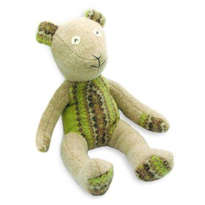 Cate & Levi - Cate & Levi Wool Stuffed Animal - Bear $78.00