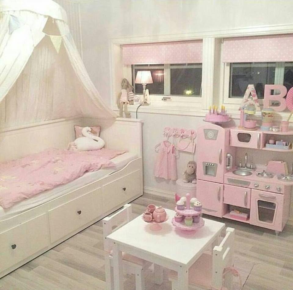 Cute Little Girl S Apartment Meisjeskamer Kinderkamer