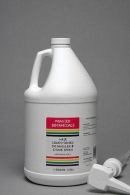 Fragrance Free Spray Detangler Conditioner Gallon Fragrance Free Products Conditioner Detangler