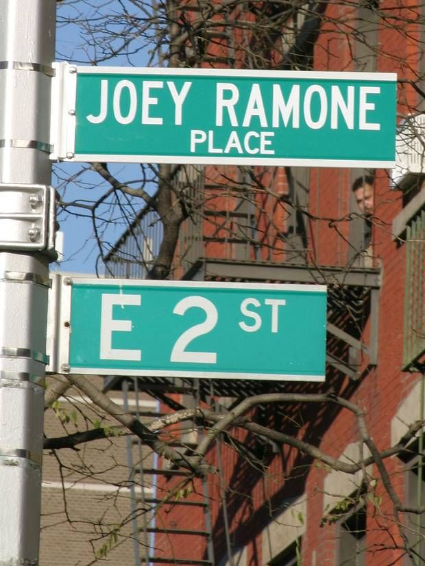 Rhodri Marsden's Interesting Objects: The Joey Ramone street sign in New York - Features - Music - The Independent