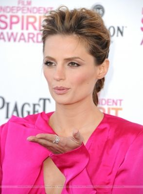 EVENTS: Stana Katic at the 2013 Film Independent Spirit Awards