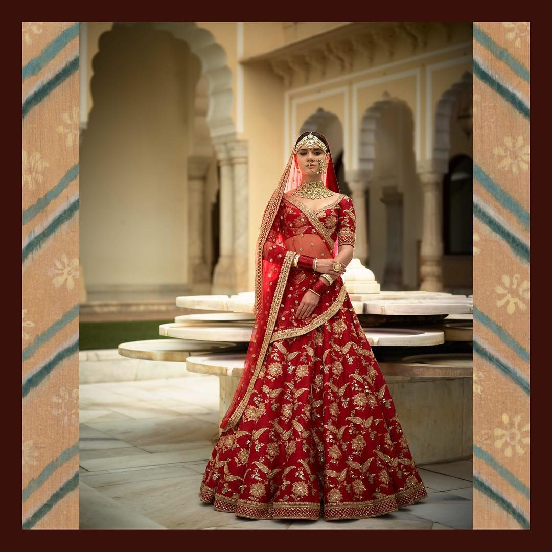 00cce9e196 18 Mind Blowing Designer Lehenga Collections by Sabyasachi • Keep Me Stylish