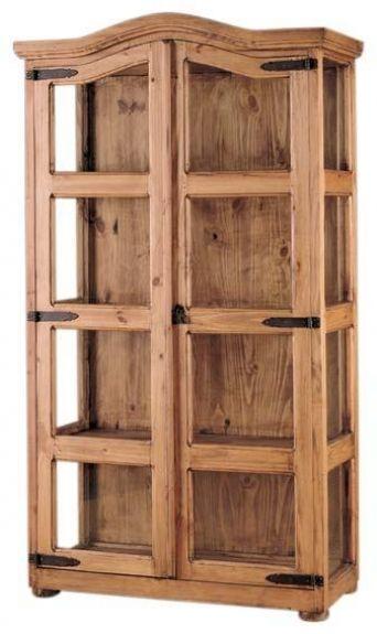 Vitrina mexicana 2p rustico muebles rusticos mexicanos en 2019 muebles rusticos mexicanos - Muebles de madera rusticos ...