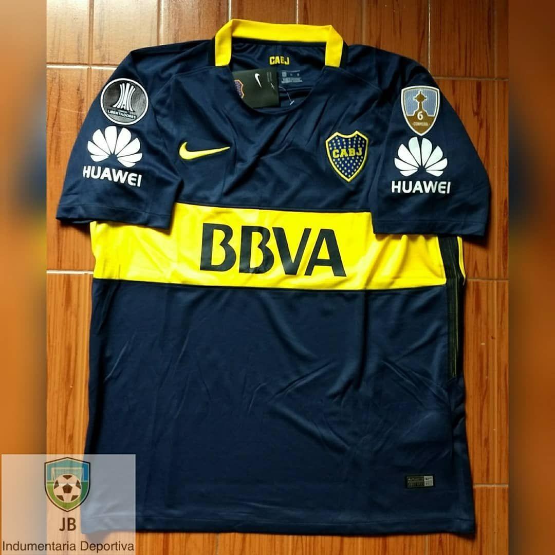 BocaJrs 🇦🇷  OFERTA Camiseta Titular 2017 18  CopaLibertadores 🏆  ⏺️Consultas por privado! 🔹Envios a todo el país! 🇦🇷📬 ⏺️Retiro por… cd07a9c10e6c1