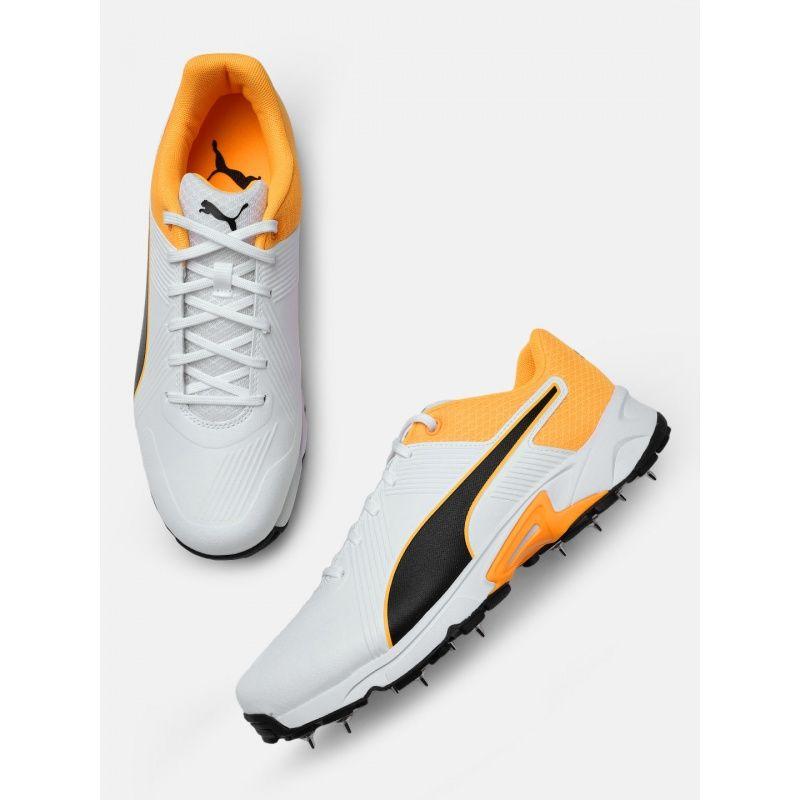 Buy Puma Spike 19.2 Orange Cricket