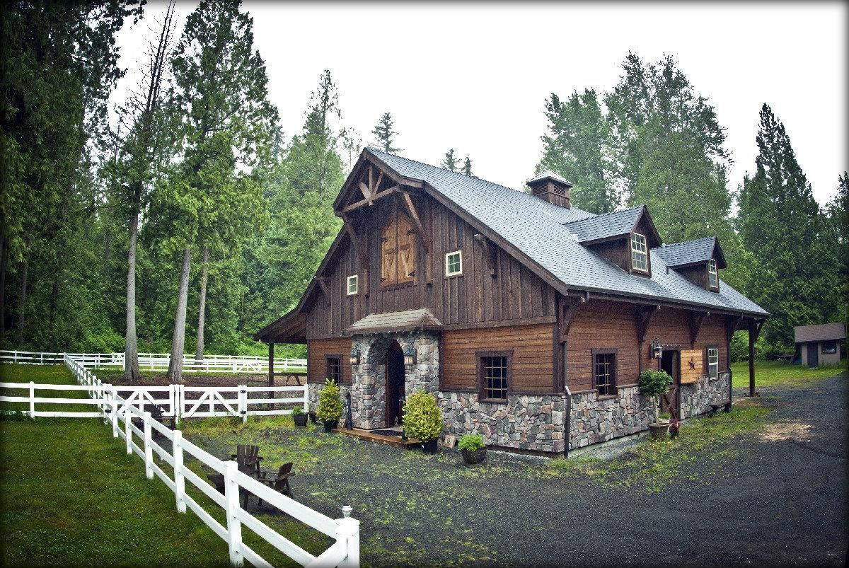 Barns now homes custom barn bothell washington dc for Custom barn homes