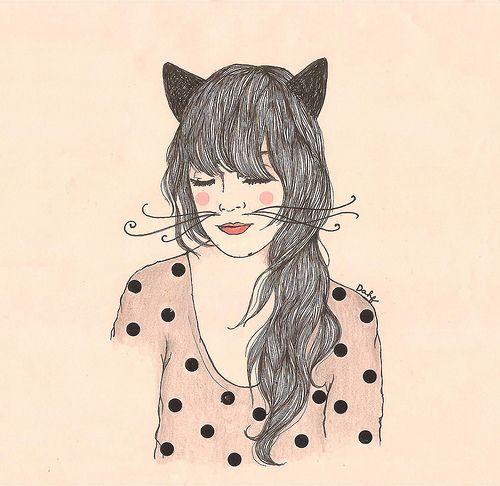 tumblr dibujos de mujeres  Buscar con Google  Art and