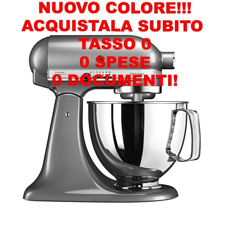 ROBOT PLANETARIA ARTISAN 4.8 LT ARGENTO PLACCATO IKSM125AC ...