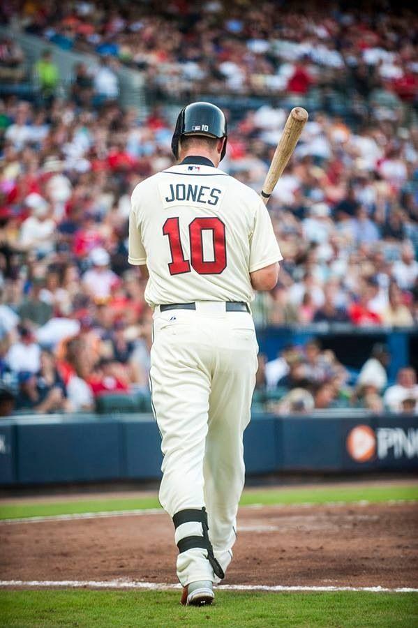 Chipper Jones Atlanta Braves Iphone Wallpaper Atlanta Braves Baseball Atlanta Braves