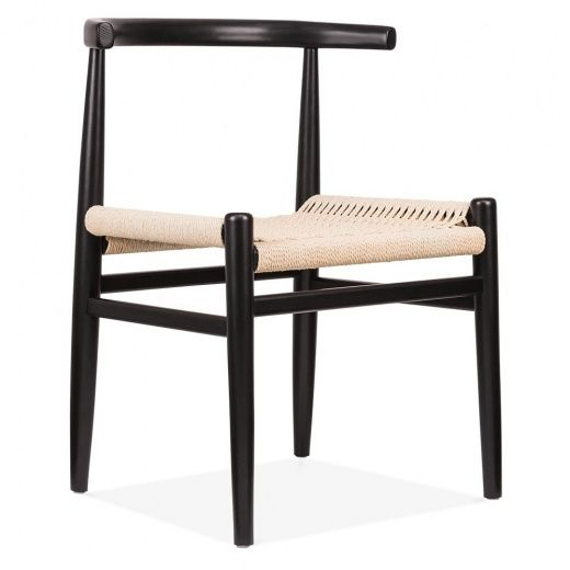 Danish Designs Nordic Chair With Weave Seat