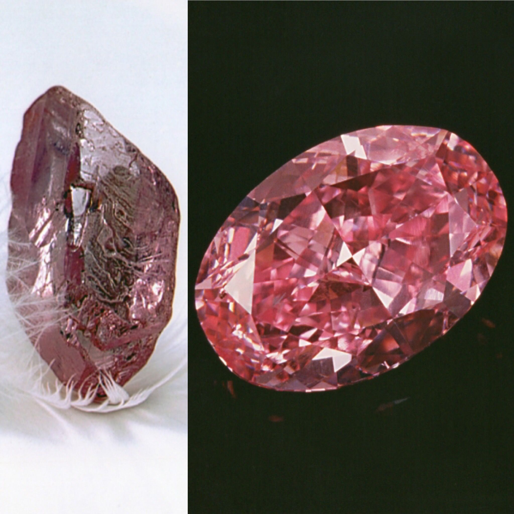 by after rough the oppenheimer carat diamond was purchased pin pink before