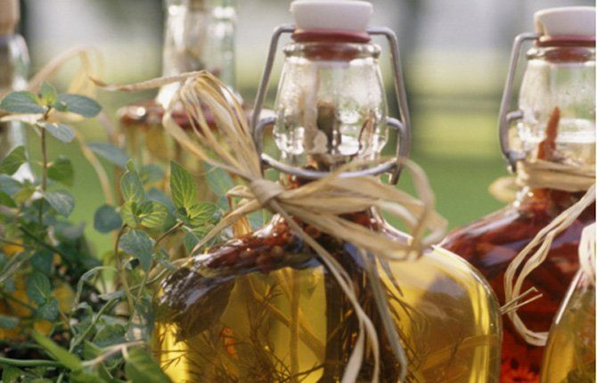 how to use flavored vinegars