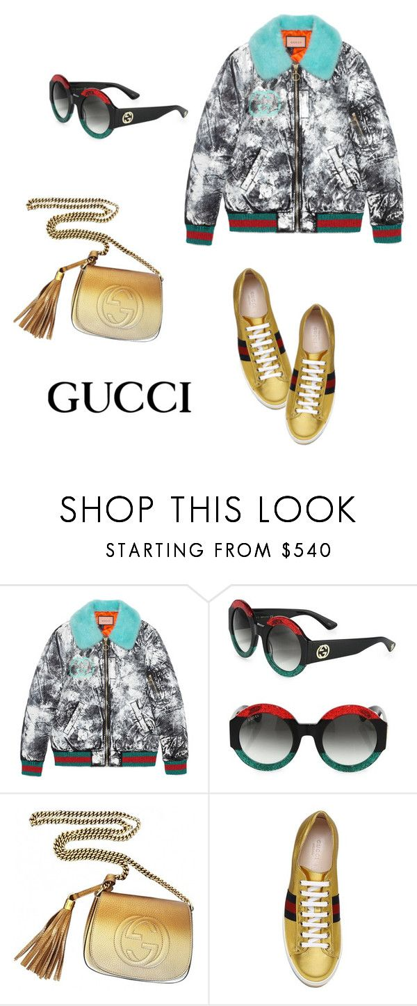 """""""Untitled #4636"""" by carlafashion-246 ❤ liked on Polyvore featuring Gucci"""