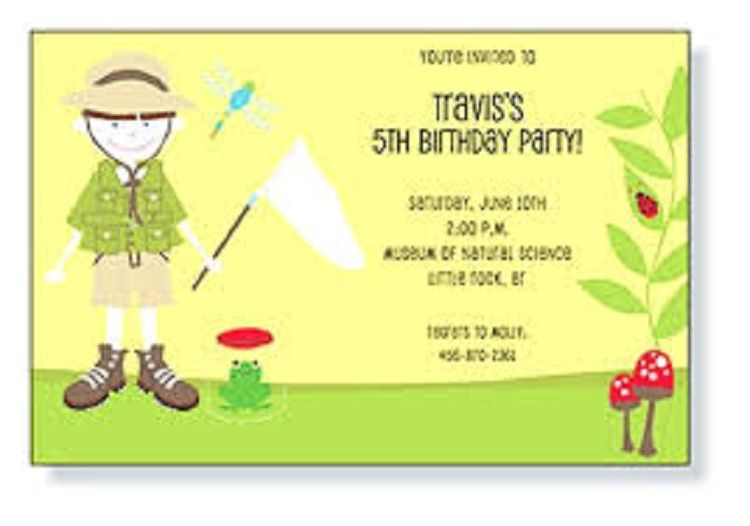 Kids Birthday Invitations Wording
