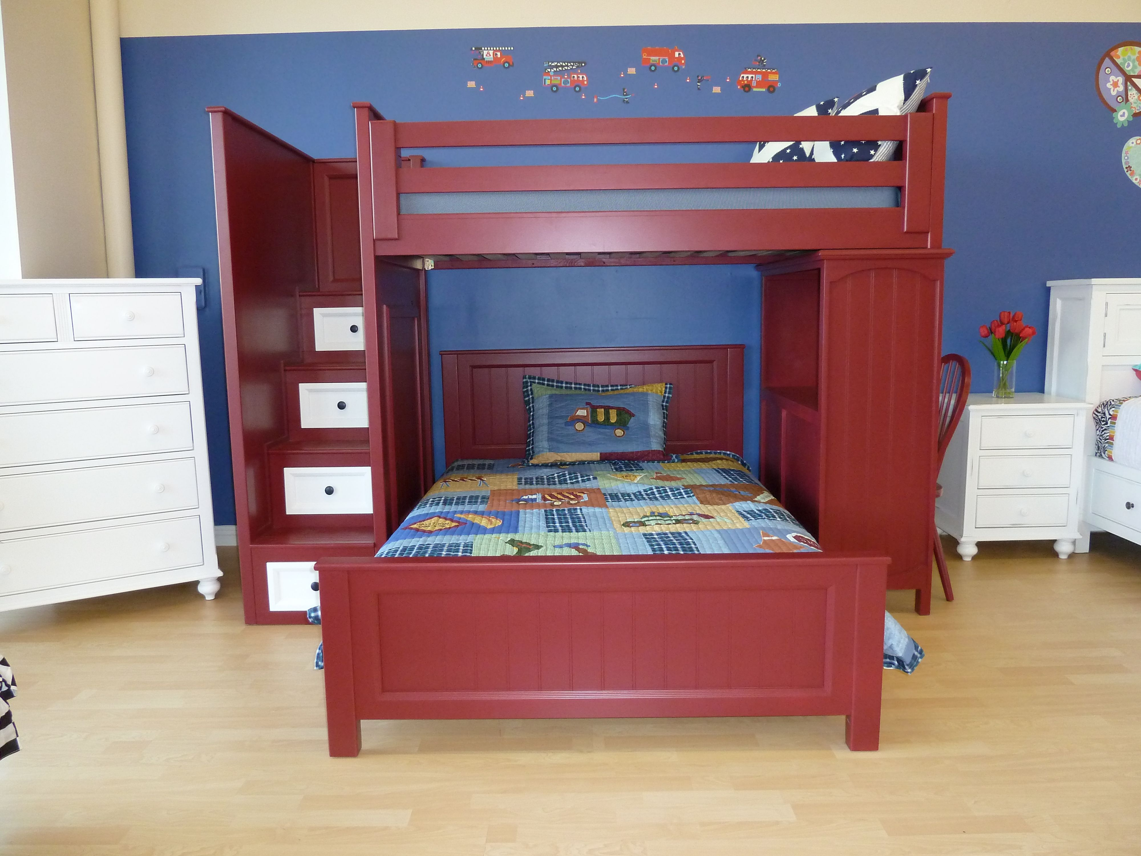 Best Loft Bed With Staircase Kids Favorite Outstanding 640 x 480
