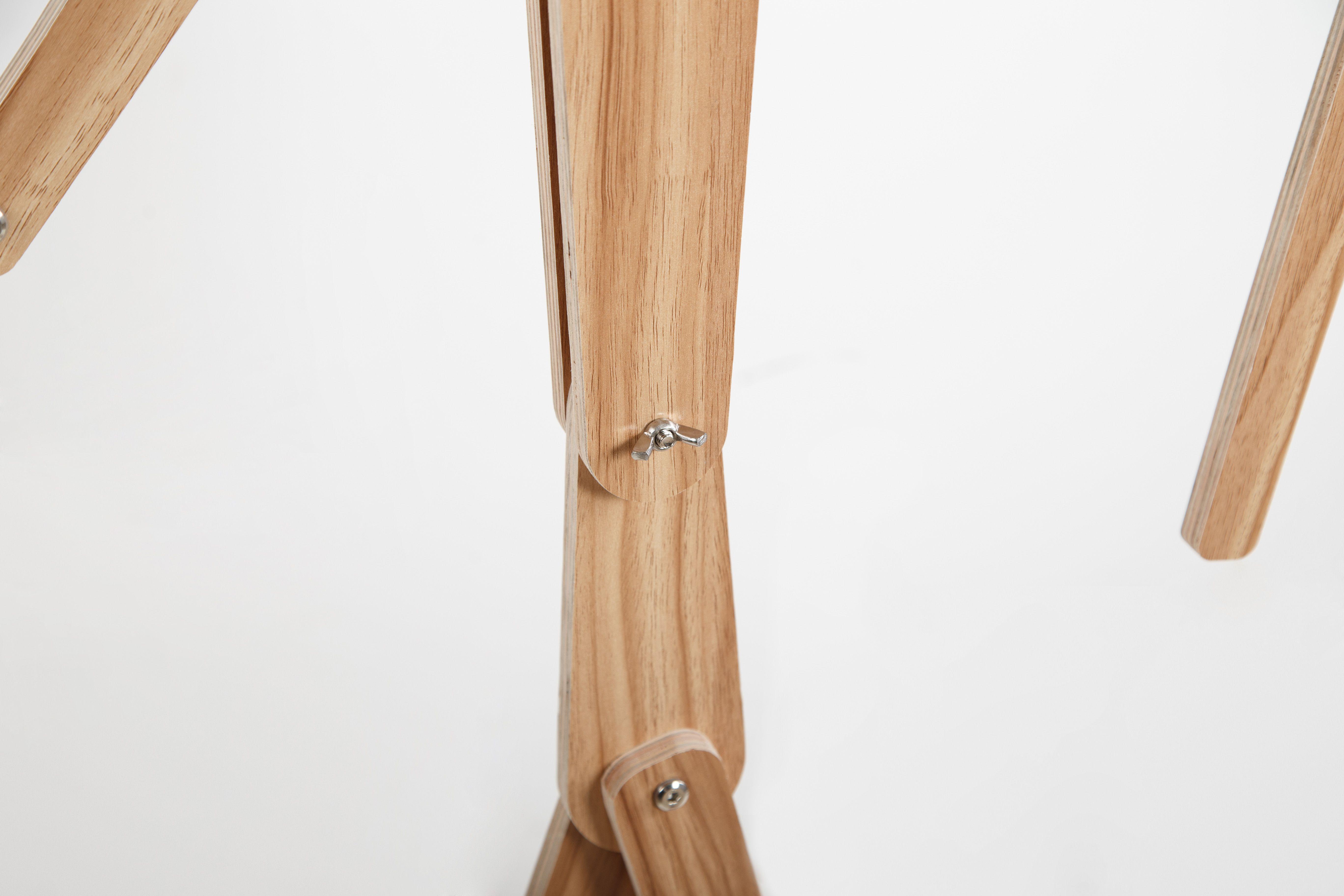 Diy Fancy Human Shape Standard Lamp With Flexible Arm