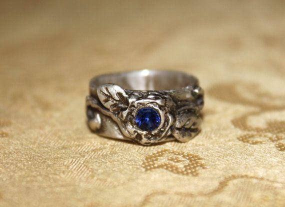 saphire ring :)
