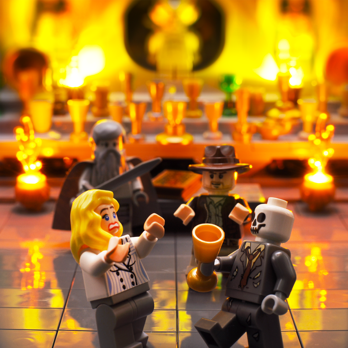 Indiana Jones And The Last Crusade In Lego Cool Lego Creations Lego Amazing Lego Creations