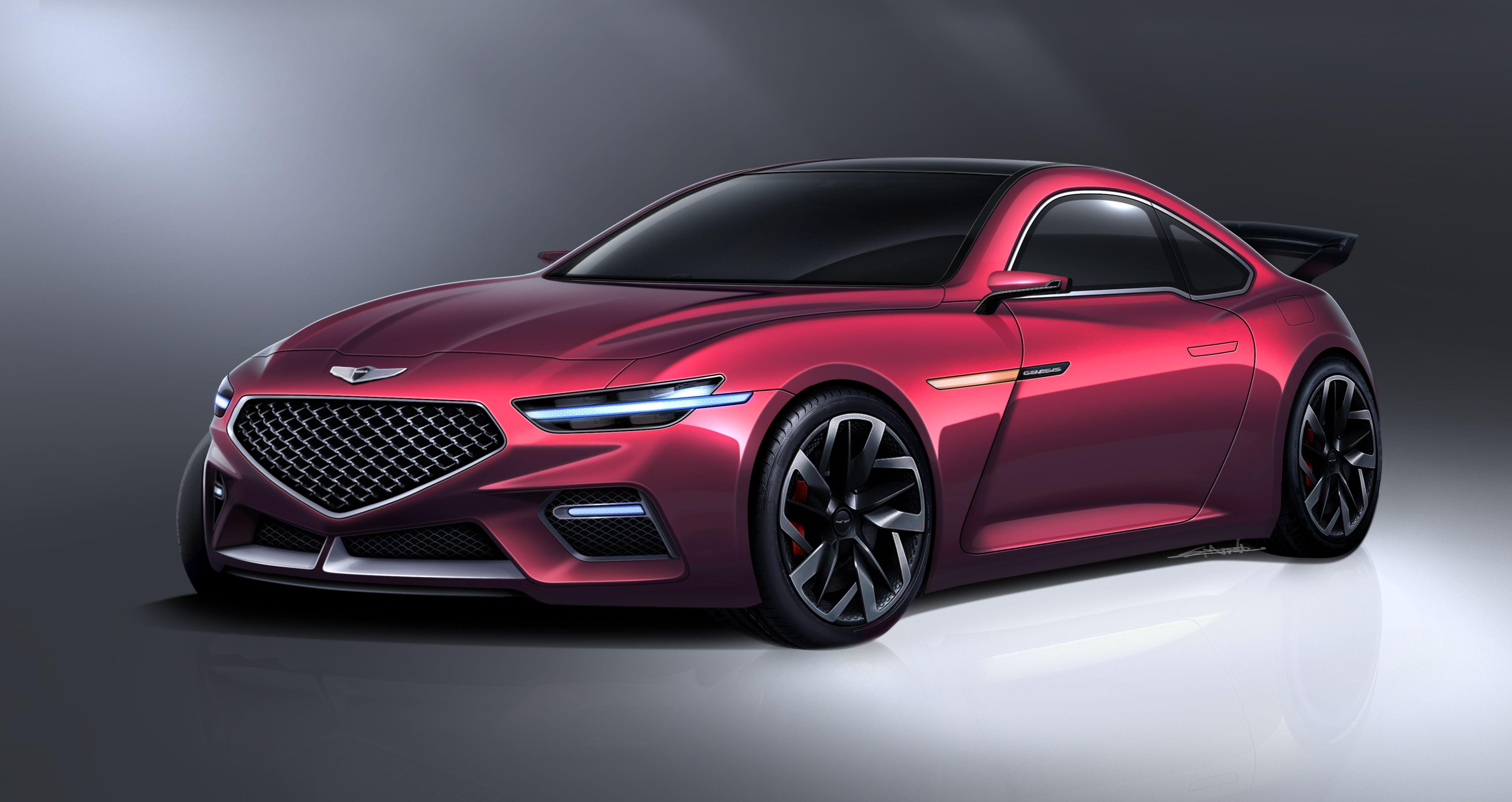 2020 genesis coupe 자동차, 디자인