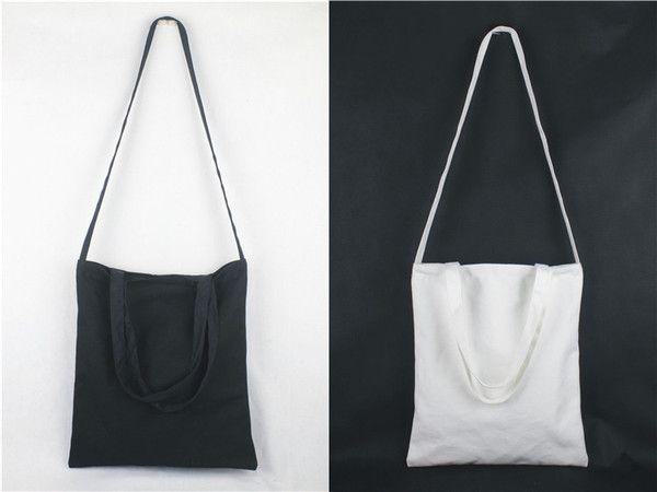 Photo of 斜挎包男女學生帆布包書包單肩包學院風手提袋手繪購物袋環保布袋