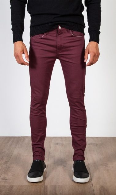 Pantalon Vino 2571101 Pantalones Vino Pantalones De Vestir Hombre Pantalones Vino Hombre