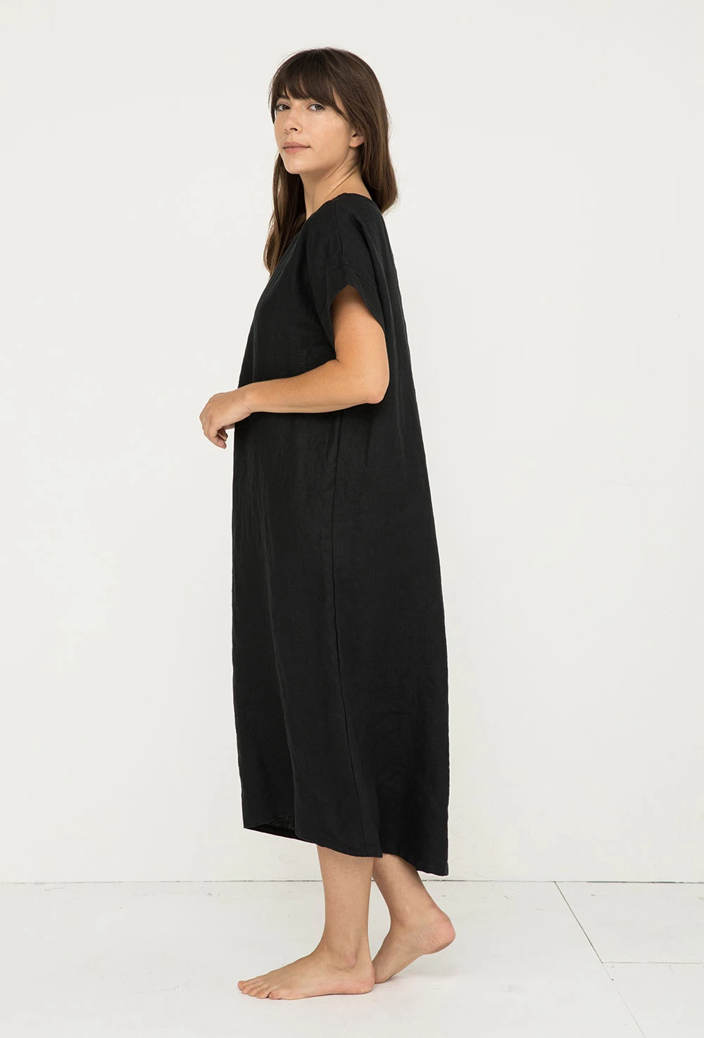 Georgia Midi in Midweight Linen #pictureplacemeant