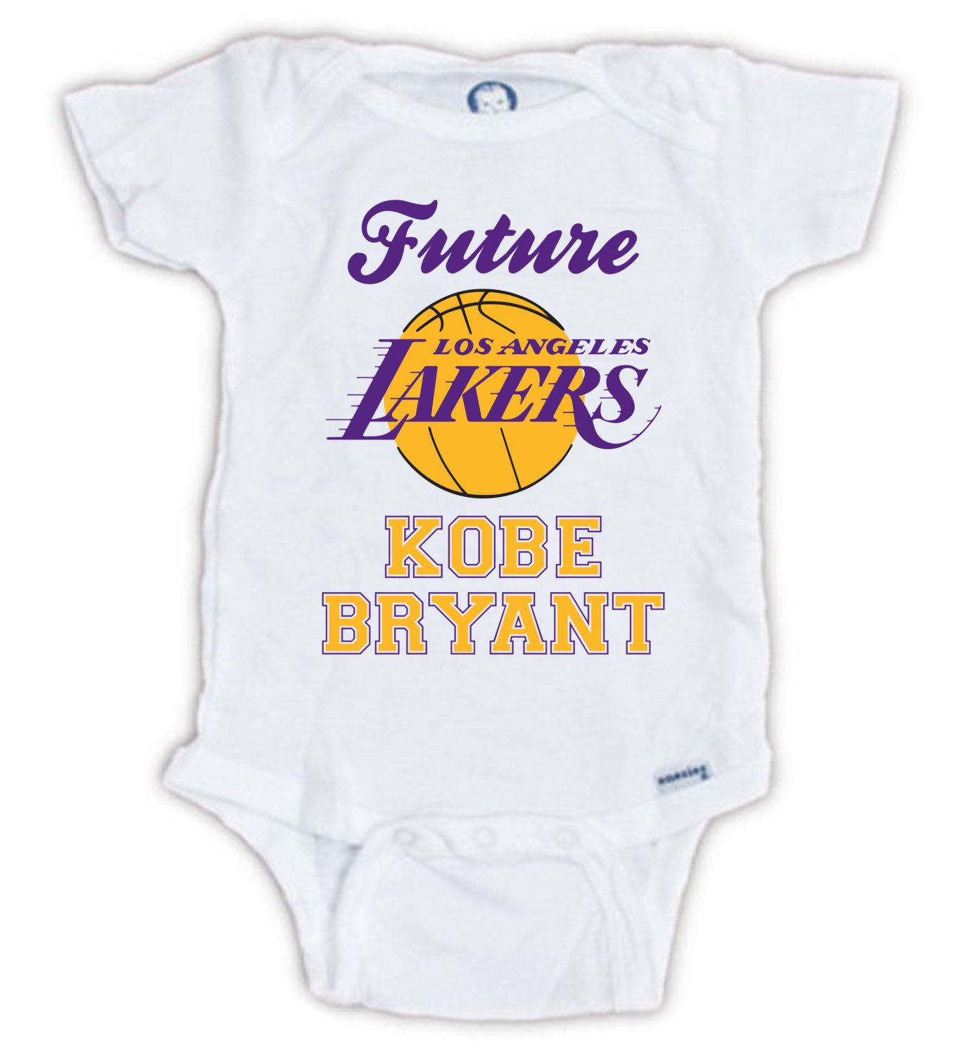 FUTURE KOBE BRYANT Baby esie Baby Bodysuit Lakers esie Lakers