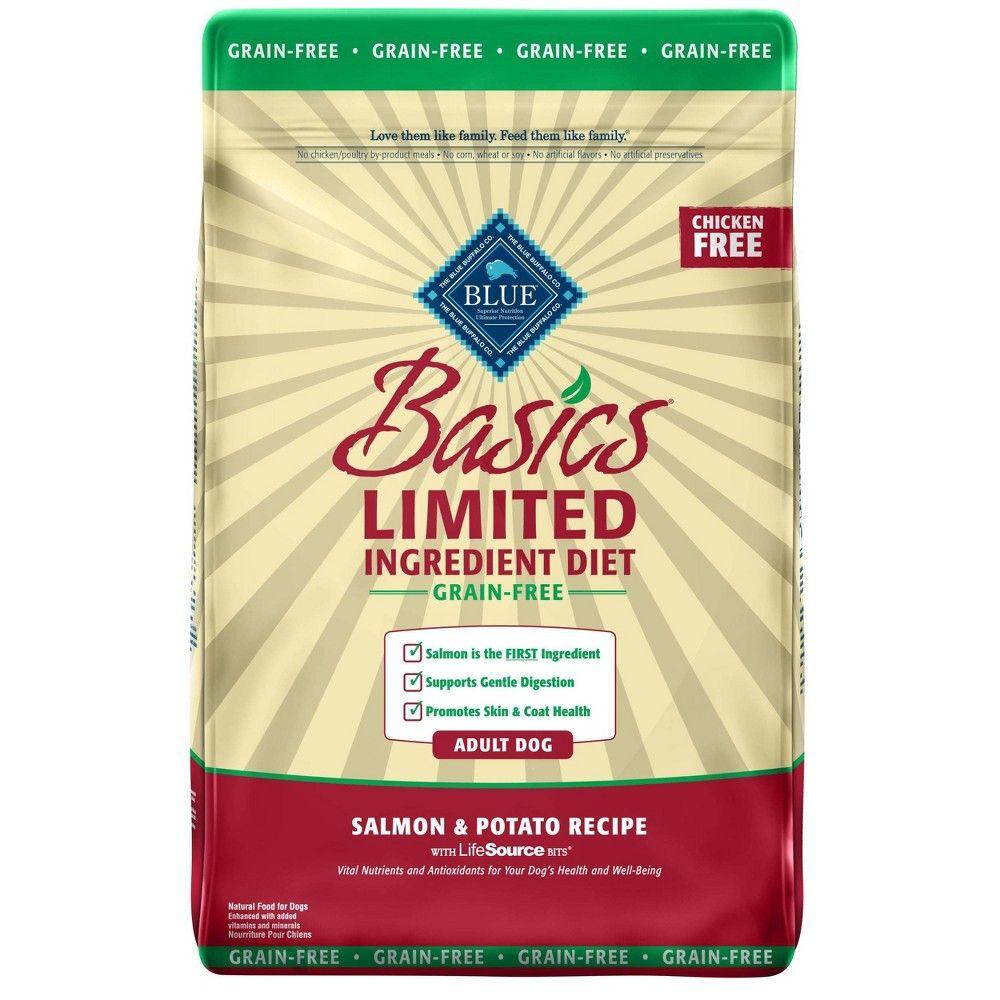 Blue Buffalo Basics Diet Grain Free Adult Salmon Dry Dog Food
