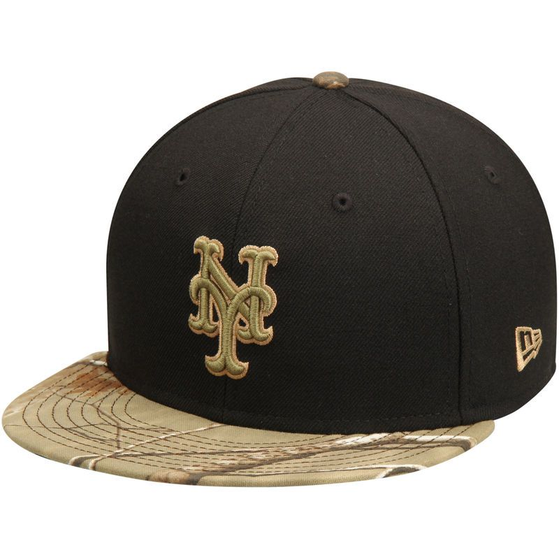 huge selection of 4adb2 20137 New York Mets New Era Realtree 59FIFTY Fitted Hat - Black