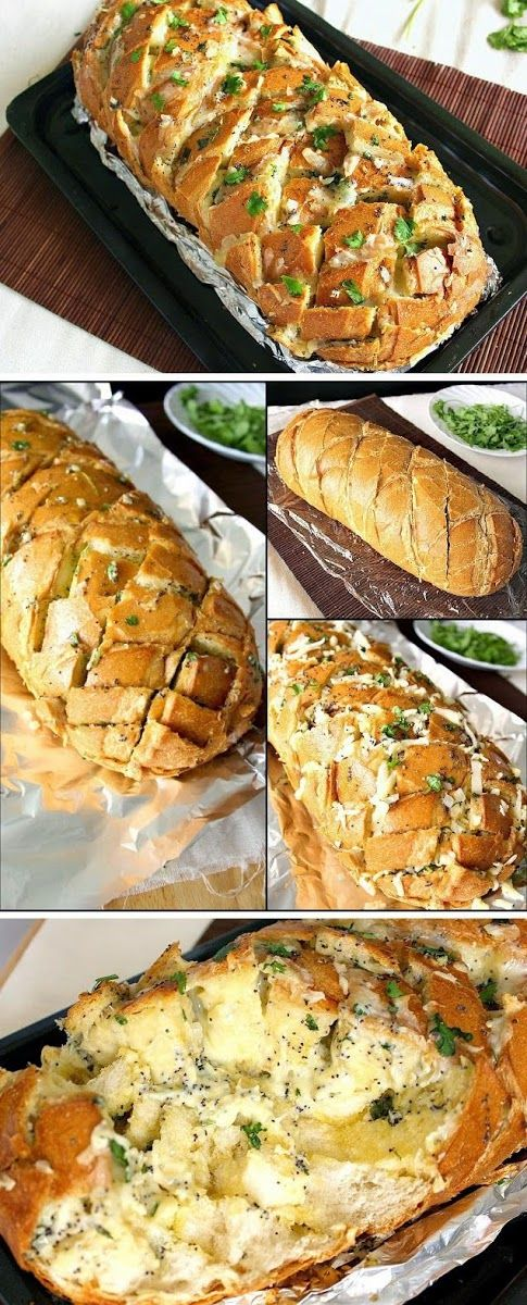 New Food & drink: How To Stuffed Cheesy Bread on Crack