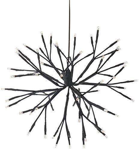 Home Style Dekokugel Zum Aufhangen 64 Leds Warm Weiss 35 Cm Durchmesser 5 M Zuleitungskabel 577130 Amazon De Beleuchtung Aufhangen Wohnstile Wohntrends