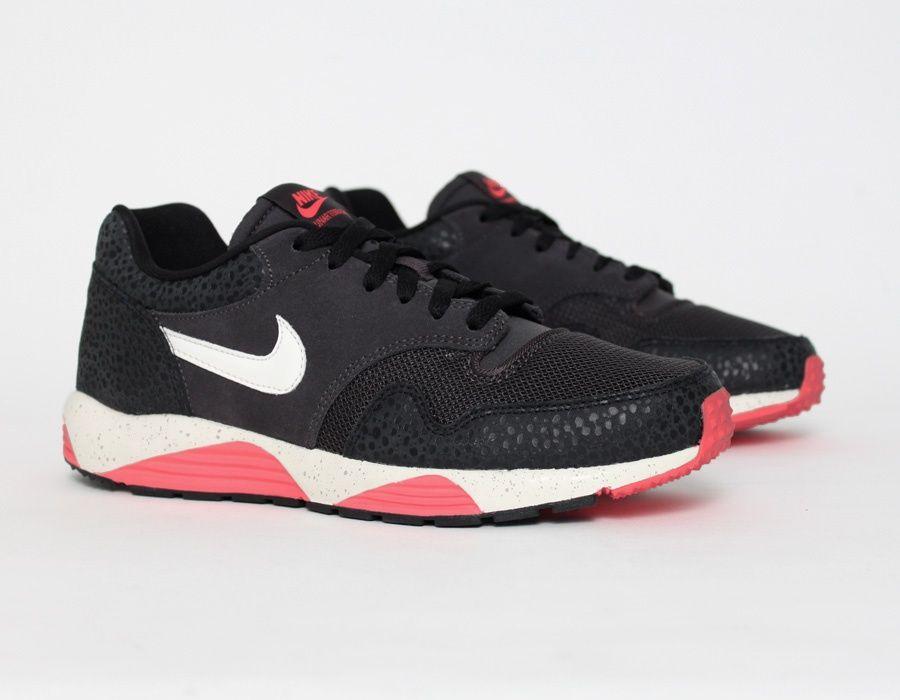 best service 5c0ed 8dc73 Nike Lunar Terra Safari Black Sneakers