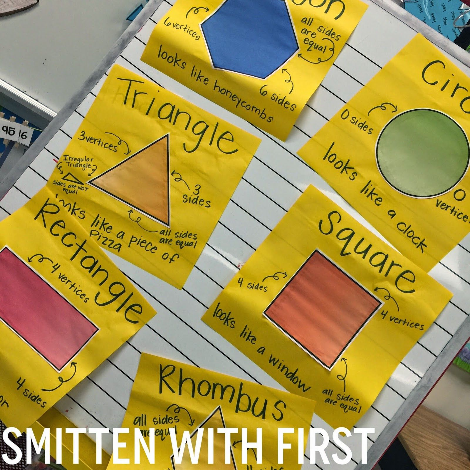 Smitten With First Shapes A Whole Shape Unit