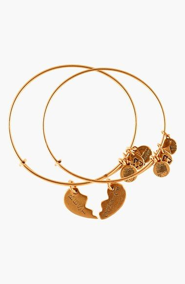 Alex And Ani Best Friends Adjule Wire Bangles Set Of 2 Available At Nordstrom Tisamwright Yay Or Nay