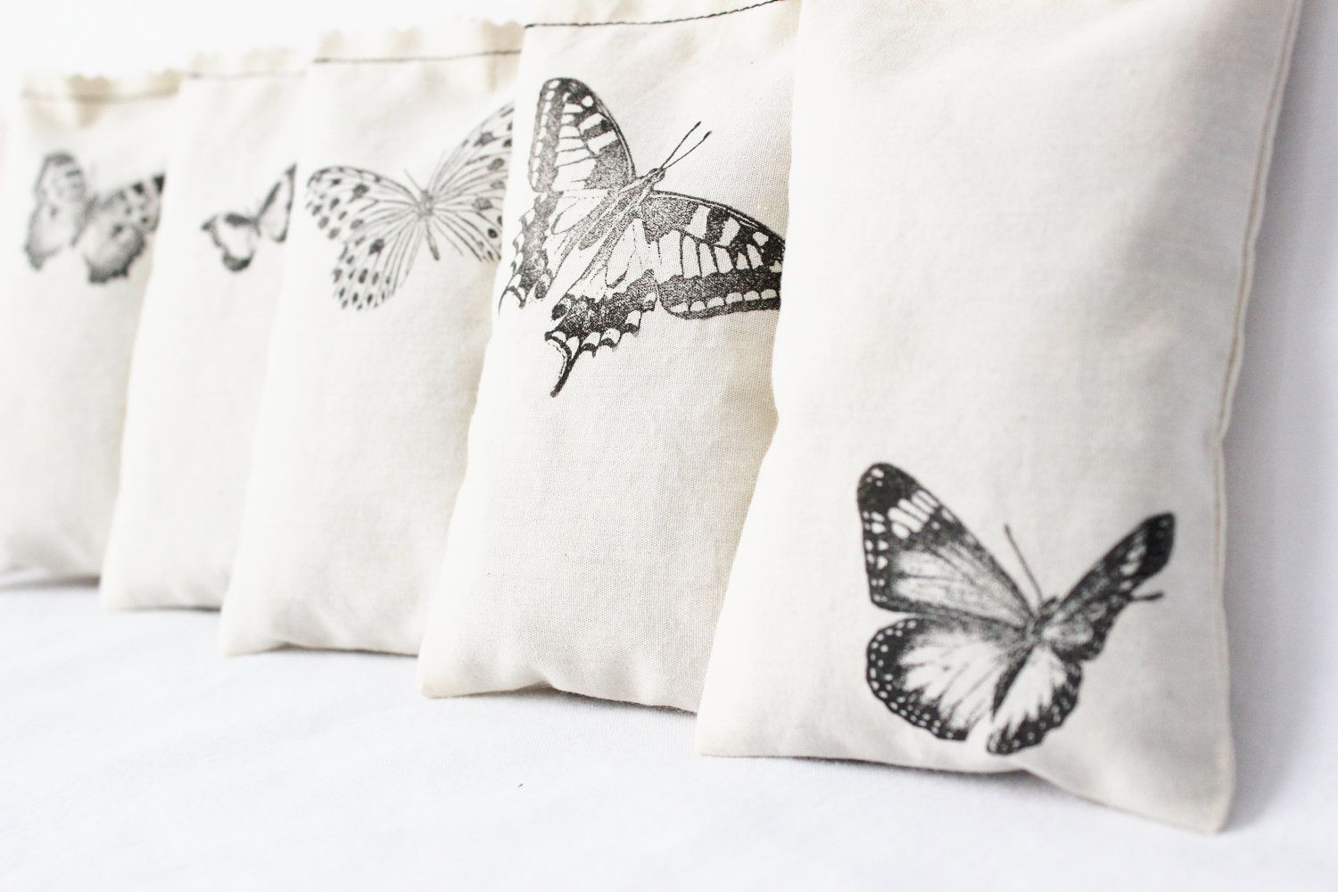 7 butterfly sachets unique gift for wife cotton