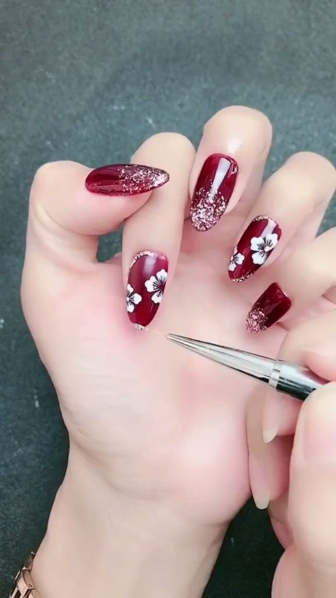 Simple Nails Art Design Video Tutorials Compilation Part 145