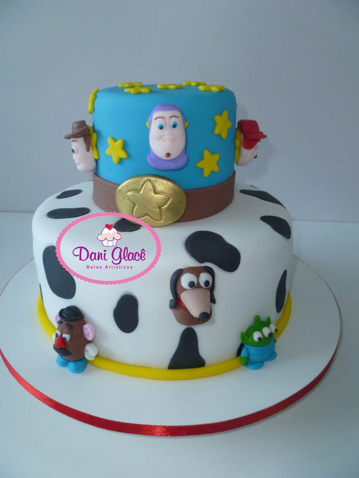 Toy Story Cake by Dani Leal www.daniglace.blogspot.com