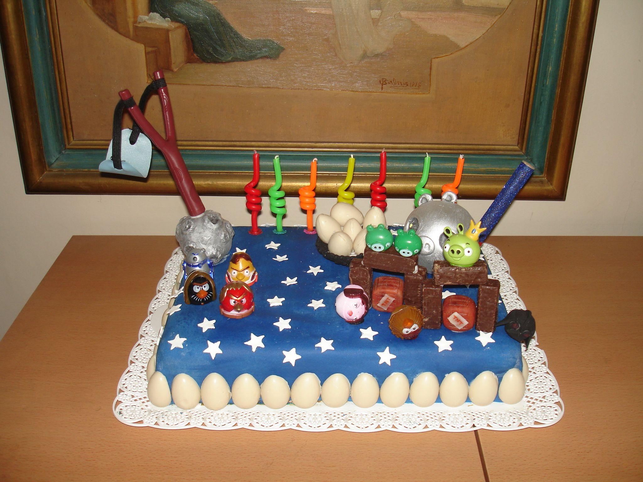 Torta Angry Birds Star Wars