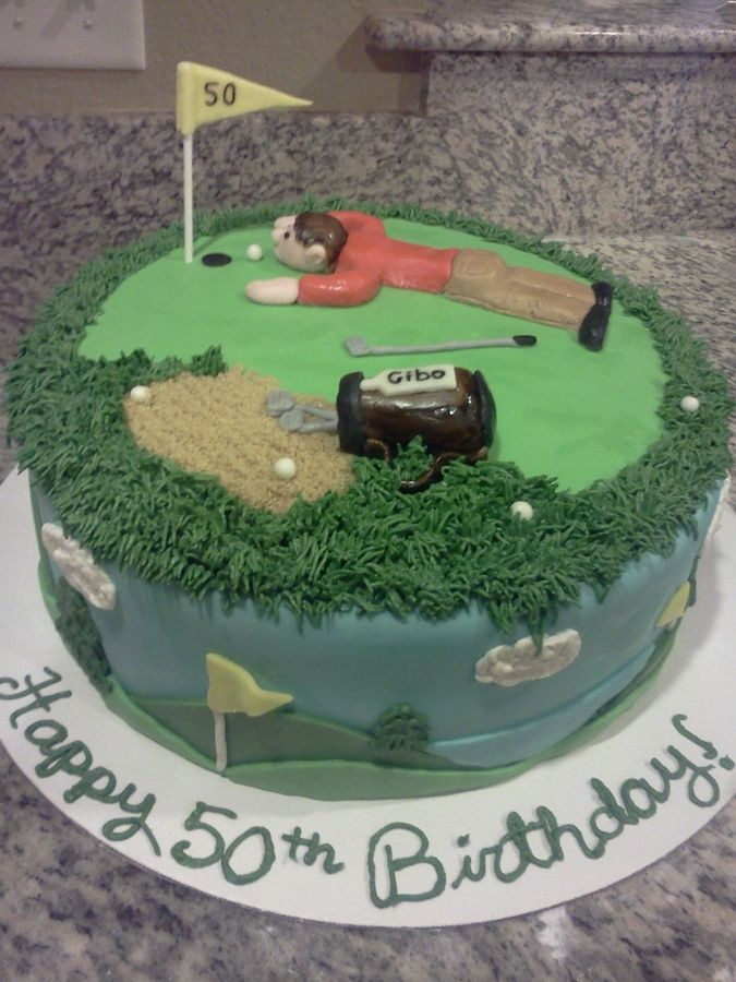 Buttercream Frosting Golf Cakes Google Search Phils