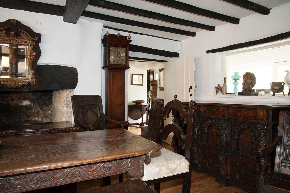 Marhamchurch Antiques Exeter Devon Devon Tudor Entryway Tables