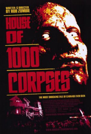 House Of 1000 Corpses In 2019 Horror Movies Horror Movie