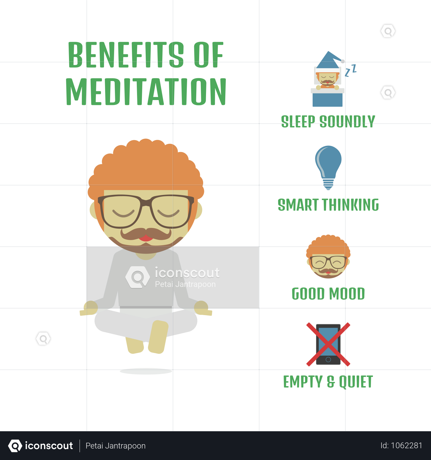 Premium Relax Activitiy The Way Of Zen Isolated On White Background Illustration Download In Png Vector Format Infographic Marketing White Background Illustration