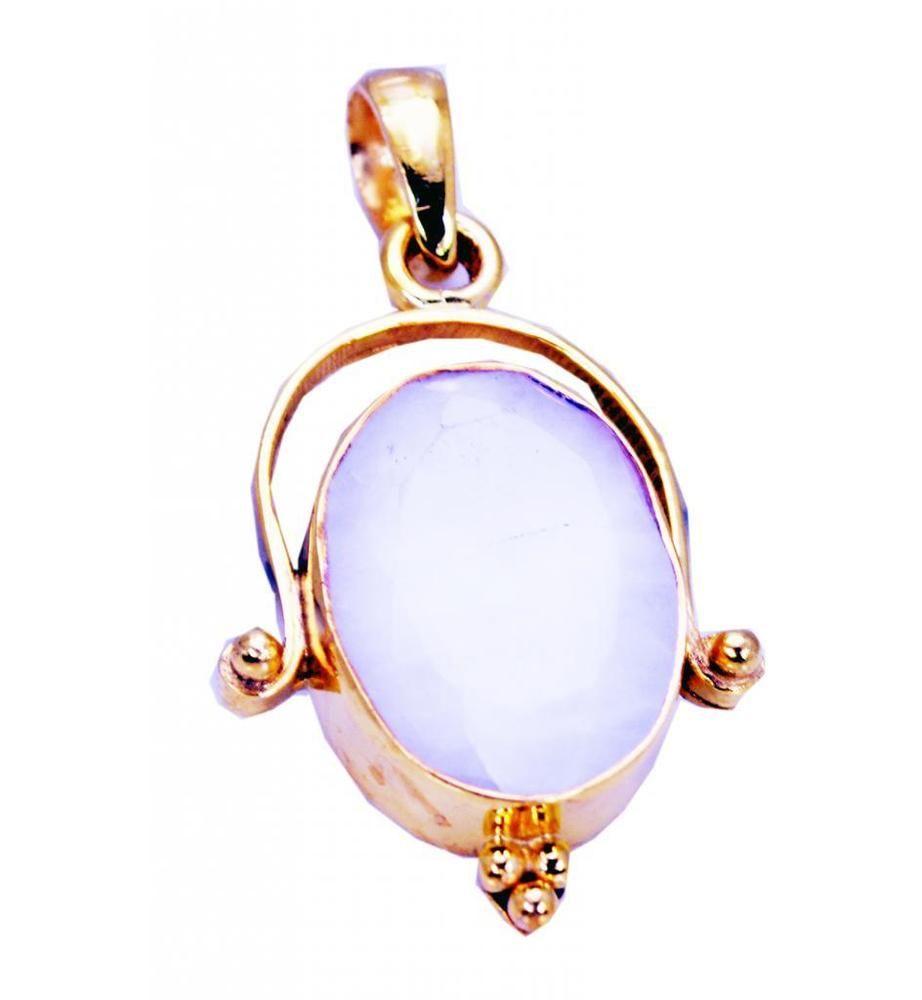 Agate Copper resplendent india Pendant White L-1.5in UK gift http ...