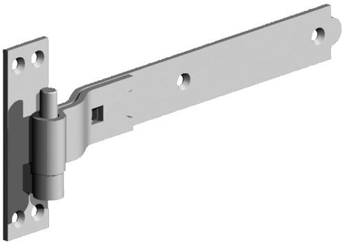 316 Stainless Steel Lift Off Strap Hinges, Heavy Duty. Supports 150 Lbs  Minimum.