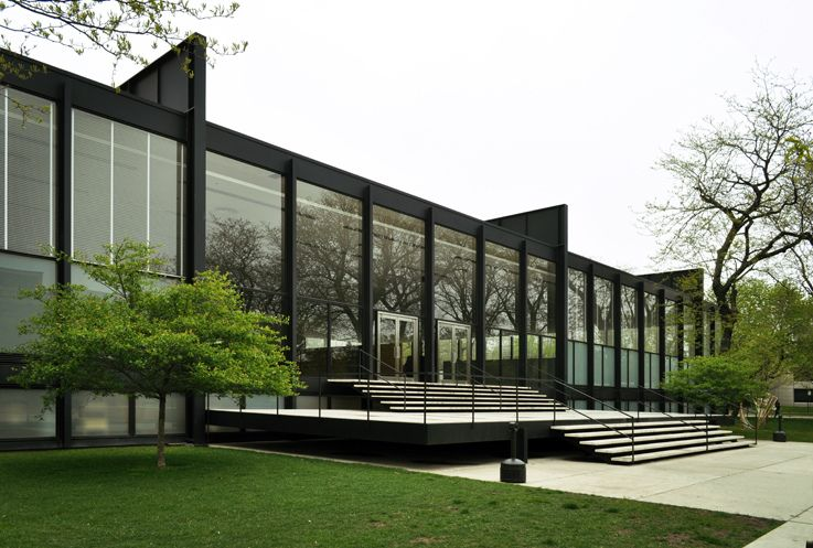Crown Hall - Chicago (Mies Van Der Rohe)