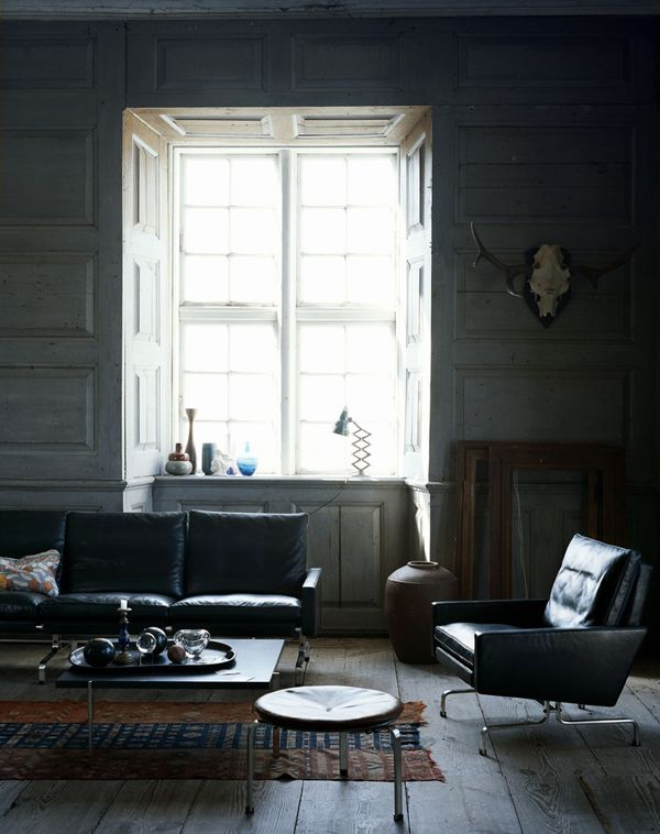 great room ... dark shades, bright light with cool stuff | Living ...